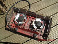 Two Burner camping gaz stove