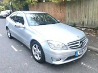 08 REG MERCEDES CLC 200 CDI SE SILVER HALF LEATHER NOT C180 C220 116I 118I 120I 118D 120D 320D GOLF