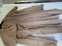 Beige DKNY coat