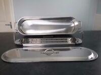 Stainless steel fish steamer