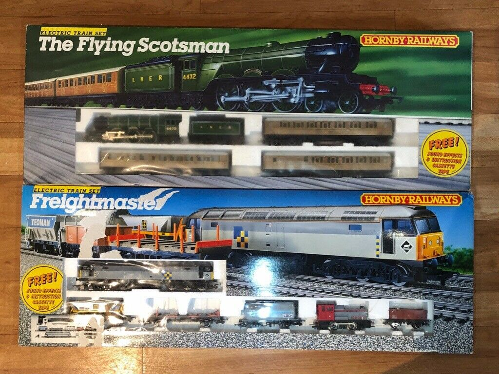 RARE Hornby Train Set (used but in GOOD, WORKING condition)  Freightmaster/The Flying Scotsman   in Fordingbridge, Hampshire   Gumtree