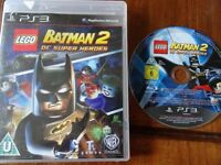 PLAYSTATION 3 GAME FOR SALE LEGO BATMAN 2 DC SUPER HEROES excellent condition
