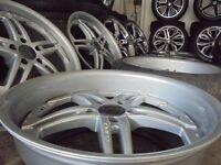 20inch finichi DEEP DISH staggered 5x120 range rover alloy wheels bmw x5 t5 vw camper