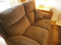 Perfect Condition, Quality 'Lazyboy' 2 Seater Reclining Settee
