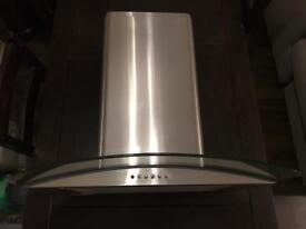 Extractor fan for hob