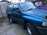 VAUXHALL Frontera Sport - Spares and Repairs