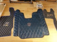 Scania floor mat set engine cover Topline Streamline