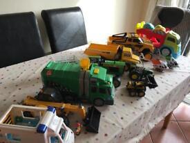 Boys trucks & tractors