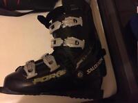 Salamon ski boots size 7
