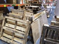 Free pallets- wooden, various sizes