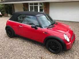Mini One Convertible 1.6 Low Mileage 11 Months MOT
