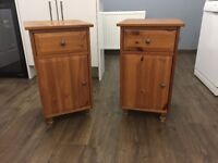 2 x Bedside Tables - Good Condition