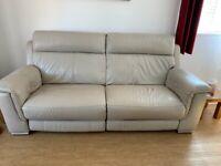 Furniture Village 3 Seater reclining sofa