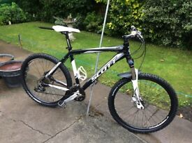 GENTS SCOTT MOUNTAIN BIKE 21 GEARS' DISC BRAKES BRAND NEW MICHELIN TYRES RIDES VERY WELL