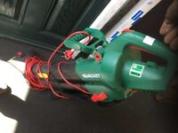 Electric Leaf Blower/Sucker (Qualcast) Excellent Condition