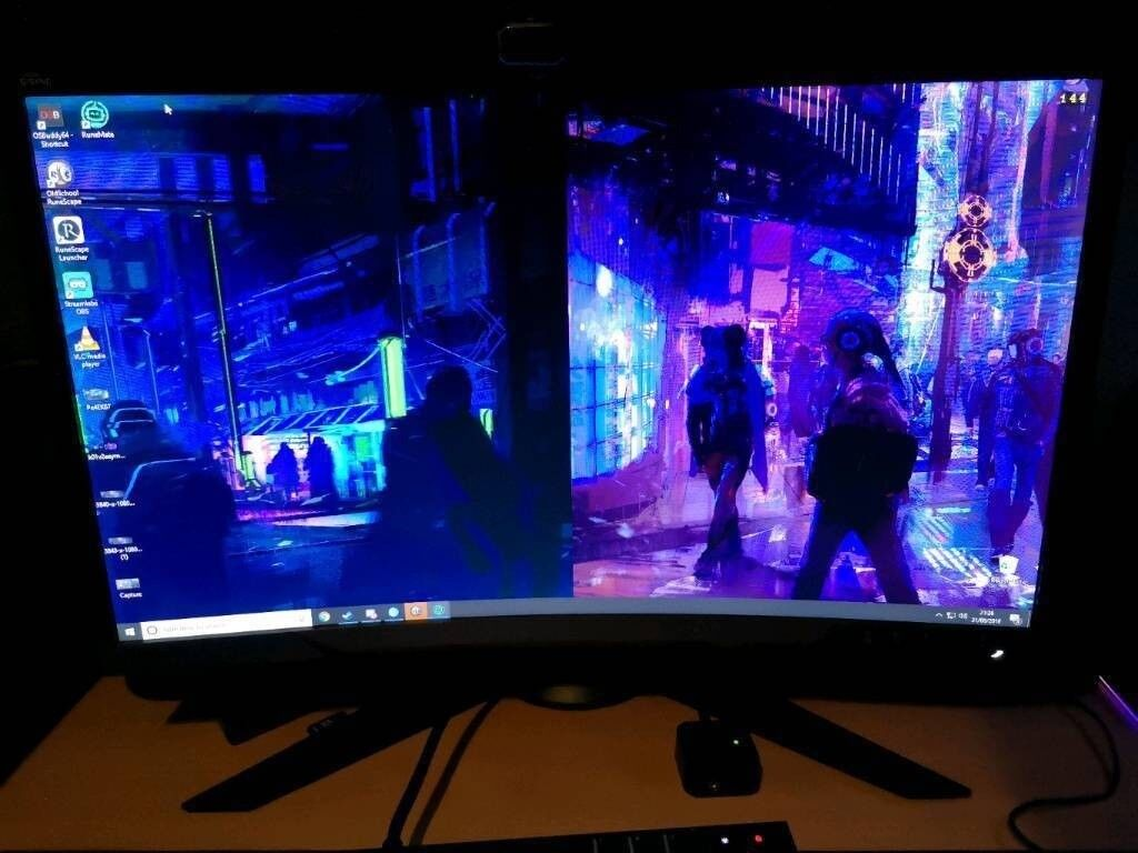 SOLD PENDING COLLECTION - Gsync - Lenovo Y27G Curved Gaming monitor - 27  inch - 144hz! OFFERS | in Newcastle, Tyne and Wear | Gumtree