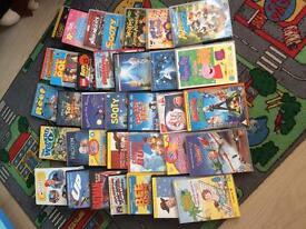 35 kids dvds