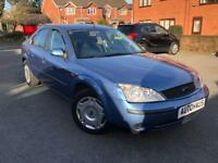 2003 Ford Mondeo 1.8 i Zetec 4dr PX TO CLEAR