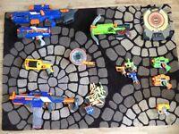 Nerf Guns (selection of)