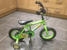 "Marvin monkey Halfords 12"" bike in great condition"