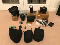 Nikon D750 DSLR Digital Camera, Tamron 24-70mm, Nikon SB-700, Nikon 50mm plus extras mint condition