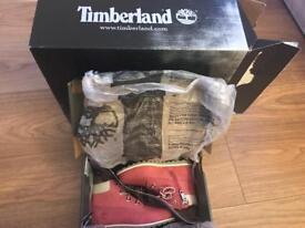 Timberland boots, pink girls size 9