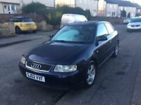 2002 AUDI A3 TDI SPORT 130 bhp PD 1.9 TURBO DIESEL PX WELCOME LONG MOT