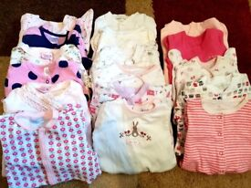 Baby clothes - Sleepsuits, vests and pyjamas