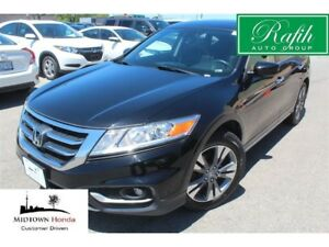 2014 Honda Crosstour V6 EX-L-push start-leather-collission warni