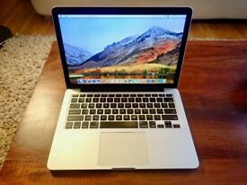 MacBook Pro Laptop (Retina, 13-inch, Mid 2014) - 250gb SSD - 2.6 GHz i5 - 8gb RAM