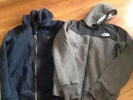 Bundle of boys hooded tops