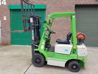 Artison 1.8 Ton Gas Forklift Truck Triple Mast and Sideshift Buy or Hire
