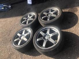 Subaru impreza. st16 5x100 18 alloywheels