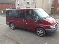 ford transit mini bus full 12 month mot