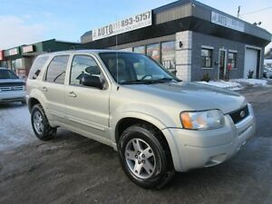 2004 Ford Escape Limitée (4x4, Leather, Sunroof, ect)