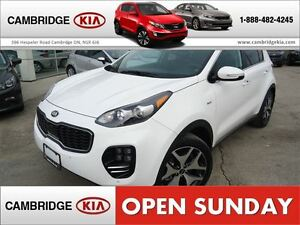 2017 Kia Sportage SX TURBO / LOADED / DEMO