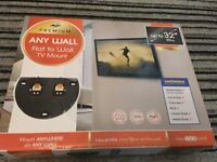 Flat to Wall TV Mount (Never Used)