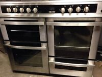 Beko range gas cooker and electric ovens 100cm