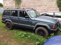 Jeep Cherokee 2.5 Turbo diesel, Spares or repairs