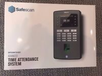 Safescan TA-8020 Fingerprint Time Attendance System for clocking on/off