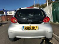2008 (08 reg) Toyota Aygo 1.0 VVT-i Platinum 5dr Hatchback Petrol 5 Speed Manual