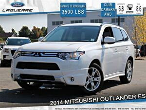 2014 Mitsubishi Outlander ES**AWD*CAMERA*CUIR*BLUETOOTH*CRUISE*A