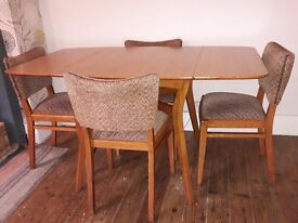 1950s G Plan Brandon Dining Table and Chairs