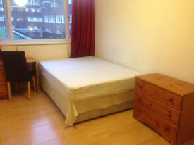 DOUBLE ROOM FOR A COUPLE OR 1 PERSON, ALL BILLS INCLUDED, MILE END, ZONE 2