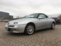 2000│Alfa Romeo Spider 2.0 T.Spark 16v Turismo 2dr│3 Former Keepers│Full Service History│4 Keys