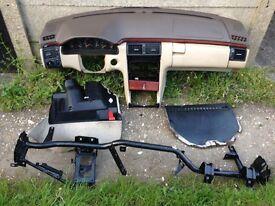 Left hand drive dashboard Mercedes E class 1999 model
