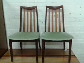 Set of 2 GPLAN dining chairs