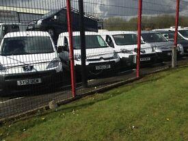Choice of Vans Berlingo and Partner