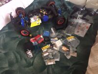 Losi 5ive t - 29cc - Immaculate condition - Upgrades