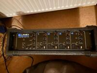 1 x 4 channel Laney mixing amp.